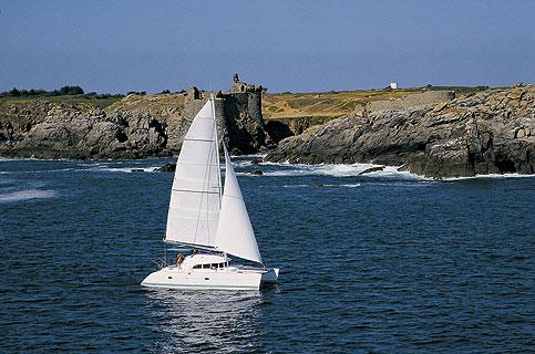 Catamaran Charter italy on board Lagoon 380