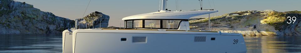Lagoon 39 Sailing Catamaran for bare boat and skippered charters in Italy by Catamaran Charter Italy