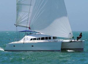 Catamaran Charter Italy on board Lagoon 410